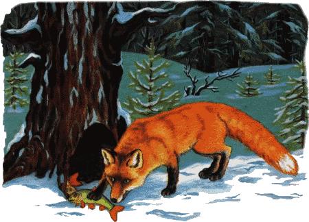 Лисичка-сестричка и волк