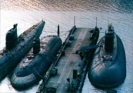 дизельные подводные лодки специального назначения