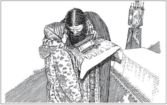 Все эти молитвословия являются подготовительными ко второй части чинопоследования - личной исповеди.