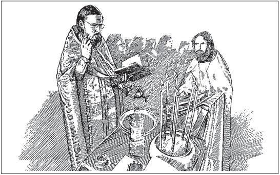 Схема чинопоследования Елеосвящения - Справочник православного человека.  Часть 2. Таинства Православной Церкви.