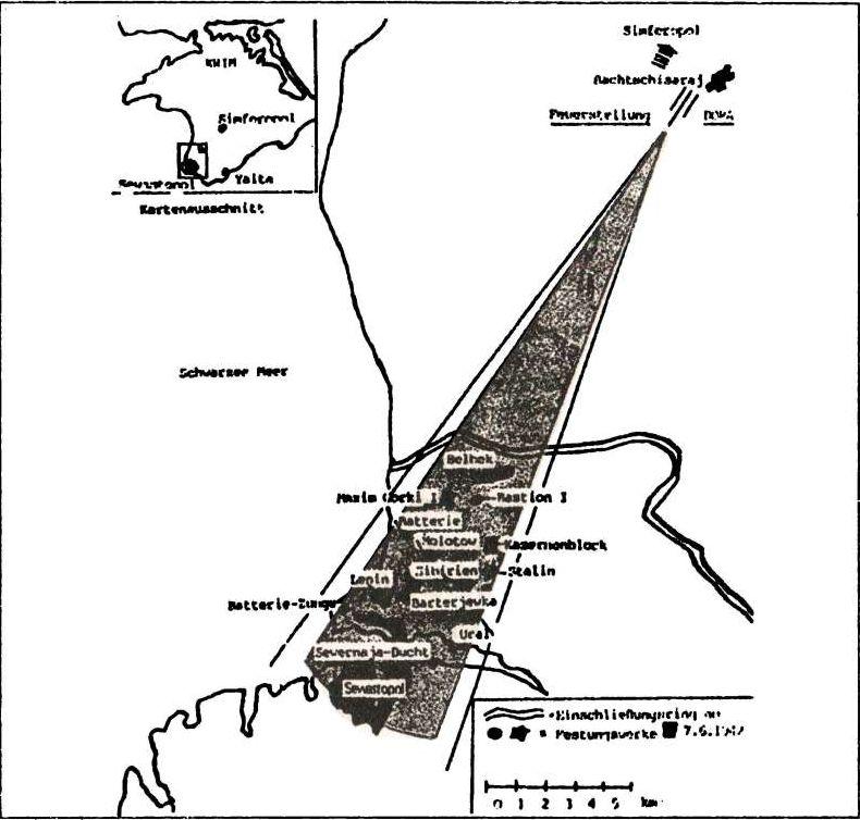 """28-см железнодорожная установка  """"Новый Бруно """" - Адмирал Октябрьский против Муссолини."""