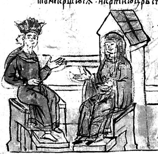 2. Князь и киевская знать - Грозная Киевская Русь.