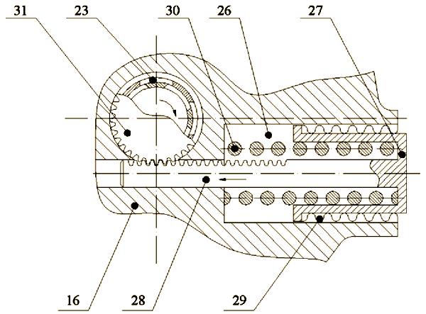 Осуществление пуска подводного аппарата производится подачей электропитания на привод не показанного на...