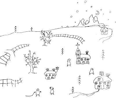 Зимняя сказка о соснах Достаньтучу и Зацепибородойоблако