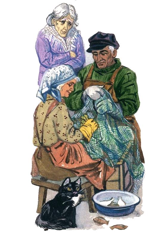 Засыпайка в рыбацкой деревне