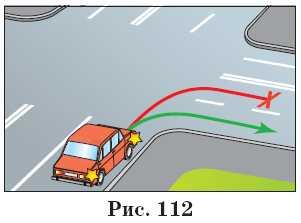 При повороте на право в какую полосу обязан повернуть водитель Галактикой висит