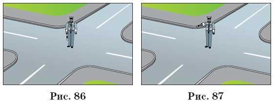 6.сигналы светофора и регулировщика.