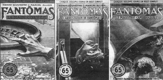 Знак F: Фантомас в книгах и на экране