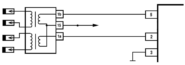 Модуль зажигания двигателя схема