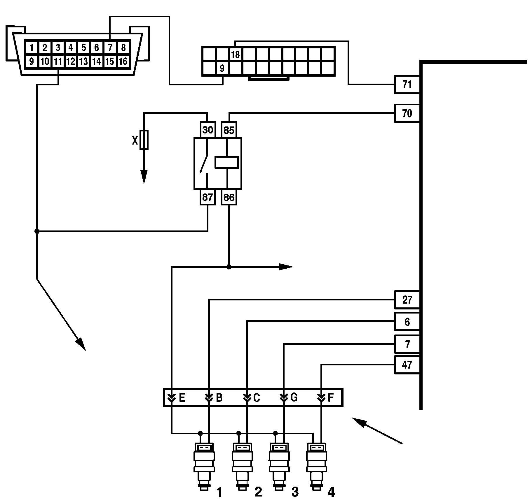 Фото №2 - как проверить реле бензонасоса ВАЗ 2110