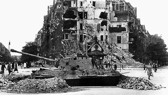 1945. Последний круг ада. Флаг над Рейхстагом