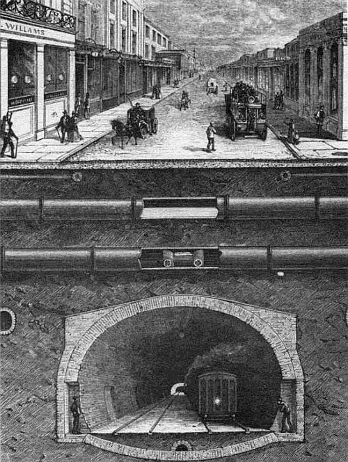 Подземный Лондон