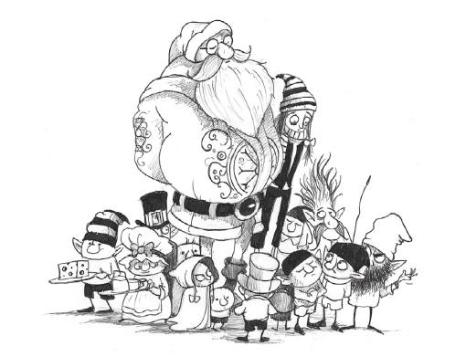 Отец Рождество и Я