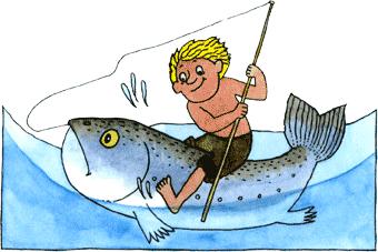 как мужик рыбу ловил мультик