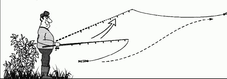 как ловить по течению или против