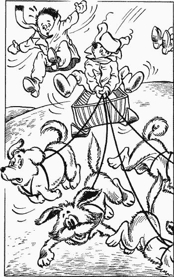 Собачья упряжка