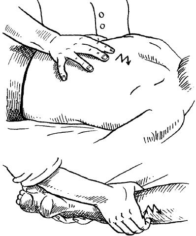 Прерывистую вибрацию (ударную), как правило, применяют при массаже конечностей, спины, груди, области таза, живота...
