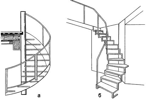 Применение древесины для строительства винтовой лестницы возможно, но это достаточно сложный процесс.
