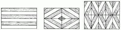 Даже составленный по той же схеме из полосок трех цветов...  Для мозаики можно также использовать различные...