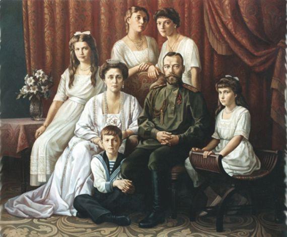 Убийство царской семьи и членов дома Романовых на Урале